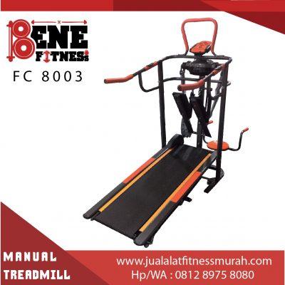 manual, treadmill, fc 8003, alat fitness, olahraga, gym, fitnes, benefitness